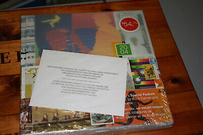 Canada Post Stamp Collection Souvenir Album Book 2004 With All Stamps Included