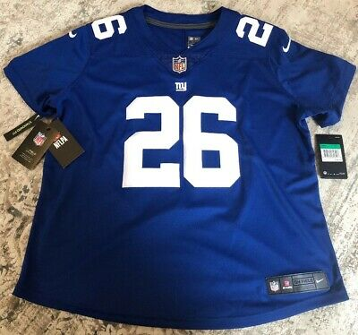 af7512b9e Nike Saquon Barkley MSRP $150 New York Giants Vapor Untouchable Limited  Jersey