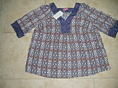 dc149aabff2 NWOT Woman Within Plus Size 1X 22 24 Top Shirt Blouse Casual Work Clothes