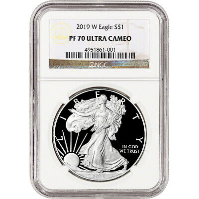 2019-W American Silver Eagle Proof - NGC PF70 UCAM