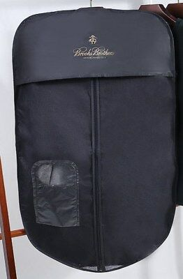 Brooks Brothers Zipped Protective Cover Garment Bag Hanging Storage Suits Coats