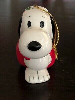 buy online 8c9c7 9e17d VINTAGE SNOOPY CHRISTMAS Ornament - Japan 1960s - Snoopy with Present Bag
