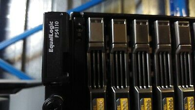"Dell Equallogic Ps4110 Storage Array San 2.5"" Hdd Bays 2X Type 17 Controllers"