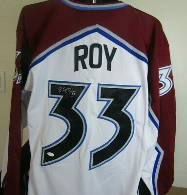 bcd5207380e PATRICK ROY AUTOGRAPHED Colorado Avalanche Authentic Game Jersey ...