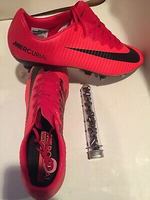 official photos 58849 0c92e NWT NIKE MERCURIAL Vapor XI SG PRO ACG Red Soccer Cleats- 831941-617 - SZ -  12