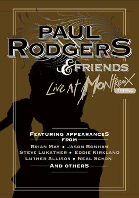 Paul Rodgers and Friends: Live at Montreux 1994 DVD (2011) Paul Rodgers