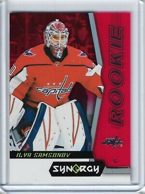 2018-19 Ud Synergy- Rookie Red Bounty Unscratched Tier 2- Ilya Samsonov #77