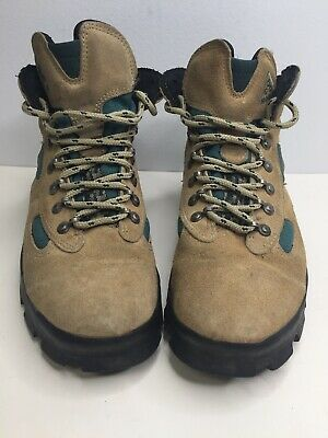 1e8a99b902b Vintage NIKE ACG Trail Hiking Boots Shoes Brown Leather 950911 Unisex Size 8
