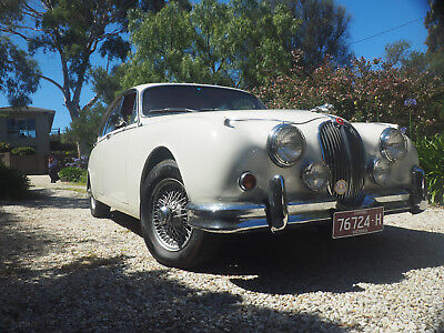 1960 Jaguar Mk2 - 3.4 manual with overdrive - looking for offers or trades.