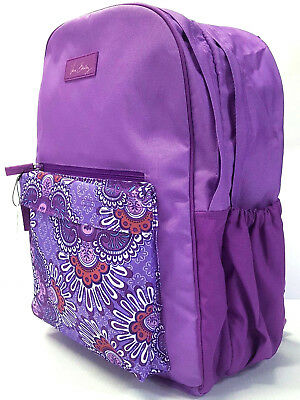 896952ff2a65 VERA BRADLEY LARGE Colorblock Backpack in Lilac Tapestry -  55.99 ...