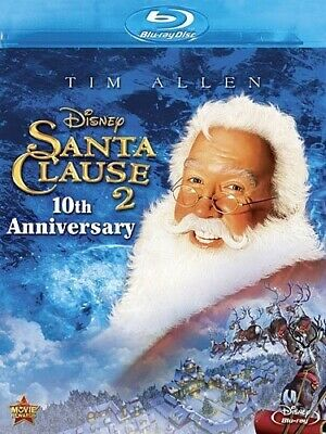 THE SANTA CLAUSE 2 New Sealed Blu-ray 10th Anniversary Edition Tim Allen