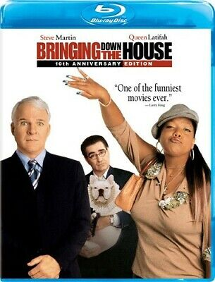 BRINGING DOWN THE HOUSE New Sealed Blu-ray 10th Anniversary Edition Steve Martin