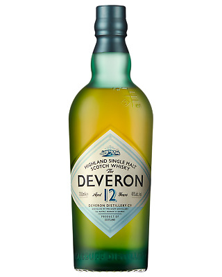 The Deveron 12 Year Old Single Malt Scotch Whisky 700mL case of 6