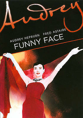 """BRAND NEW SEALED 1957 """"Funny Face"""" (DVD, 2011) Audrey Hepburn, Fred Astaire"""