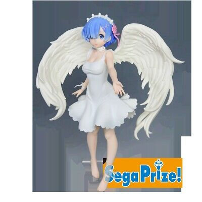 Sega Re Zero Starting Life in Another World Limited Figure Rem Oni Tenshi SG9876