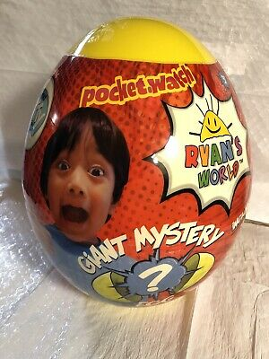 NEW RARE Ryan's World Surprise Giant Mystery YELLOW EGG Limited Edition