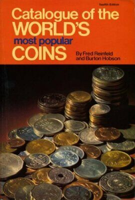 CATALOGUE WORLDS POPULAR COINS(PB) Paperback Book The Cheap Fast Free Post