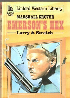 Emerson's Hex (Linford Western Library) by Grover, Marshall Paperback Book The