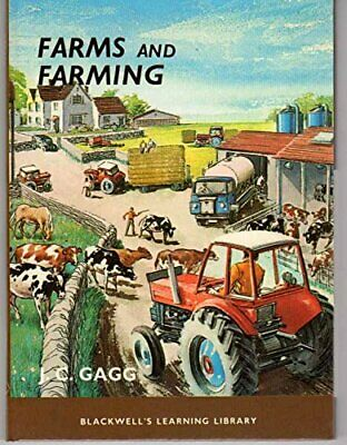 Farms and Farming (Learning Library) by Gagg, J.C. Hardback Book The Cheap Fast