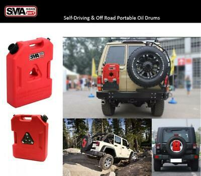 New 3 Gallon Fuel Pack Gas Container Can For Jeep Atv