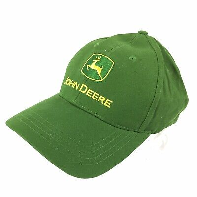 b8e6f8db725ea John Deer Adjustable Hat One Size Fits All Cary Francis Group Green Classic  Cap