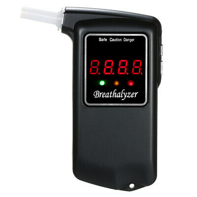 Handheld Sensitive Blowing LCD Digital Breathalyzer Breath Alcohol Tester E1Y7