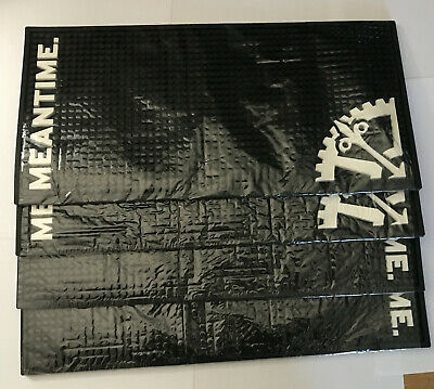 4 x Meantime Brewery Rubber Bar Mat Heavy Duty Rubber Drip Mats