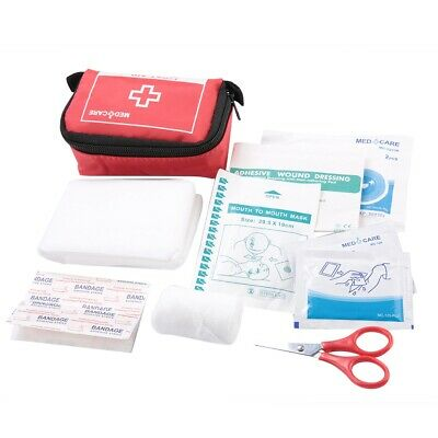 First Aid Energency Kit Camping Sport Travel Car Home Medical Storage Box Case