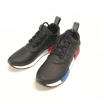 3D mini sneaker NMD BLACK for 1:6 action figure DOLL boost M46-01 madxo