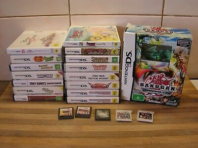 DS & 3DS Games Pokemon, Dora, Sims, Blue Dragon Plus, Sonic, , U Pick 1