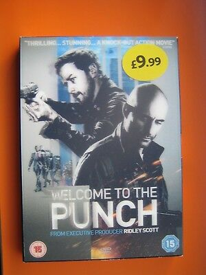 Welcome To The Punch [DVD 2013] Mark Strong; James McAvoy; New Sealed - FREEPOST