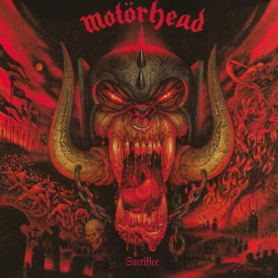 Motorhead - Sacrifice CD ALBUM NEW (27th MAR)