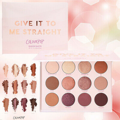 New 12 Colors Makeup Give It To Me Straight Eyeshadow Palette Colourpop