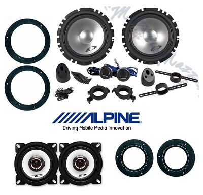 ALPINE Kit 6 casse per MERCEDES CLASSE A W169 con SUPPORTI PHONOCAR