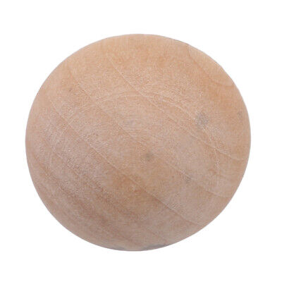 Wooden Split Balls Round Unfinished Dome Half Ball Art Painting Craft Tools 6A