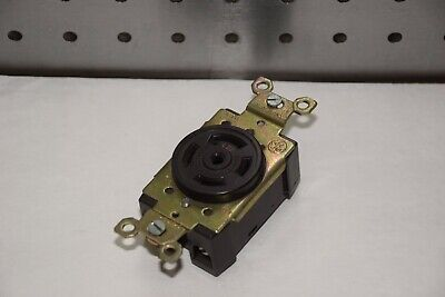 Ge General Electric L-22 30A 277/480V 3 Phase Twist Lock Receptacle New