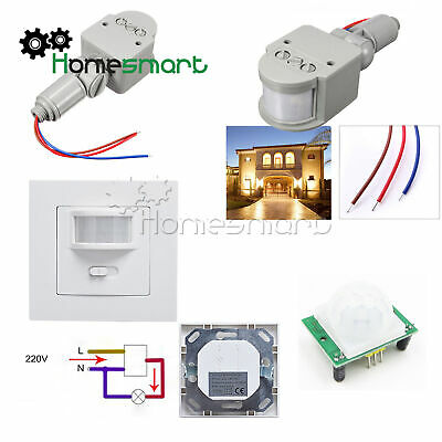 160° Infrared PIR Motion Sensor Switch for LED Light Recessed Wall Lamp AHS