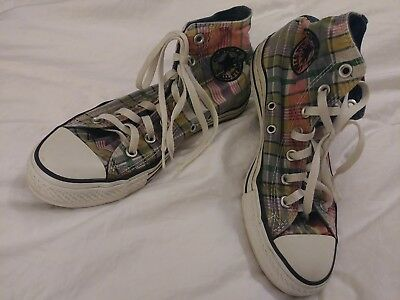 83514631e5c2 CONVERSE CHUCK TAYLOR All Star High Dot Hearts Shoes Women s Size 8 ...