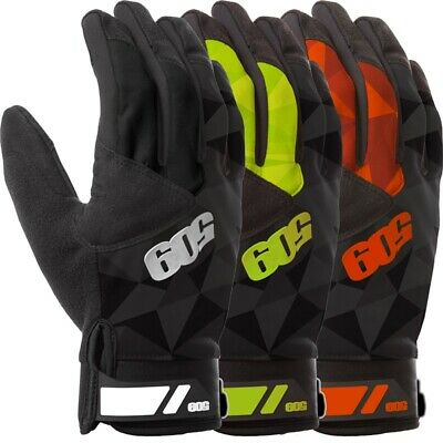 509 Men's Factor Windproof Uninsulated Snowmobile Gloves - Black Lime or Orange