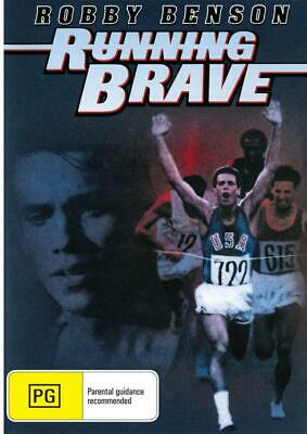 Running Brave - Robby Benson - New Dvd - Free Local Post