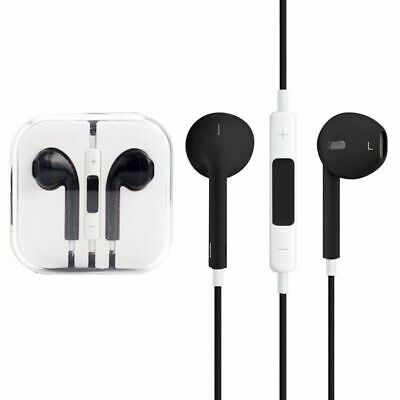 High Quality In-Earphone EarPods with Remote and Mic - Black CB-833