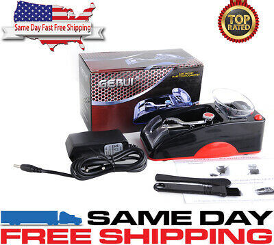 Electric Automatic Cigarette Rolling Machine Injector Tobacco Maker Roller RD US
