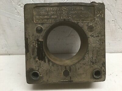 GE Type JCH-0 Current Transformer 631x27 Ratio 100:5 Amps