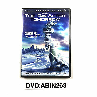 The Day After Tomorrow Full Screen Editon DVD
