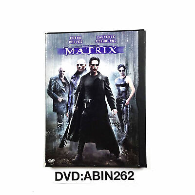 The Matrix DVD 1999 Action Movie By Keanu Reeves And Laurence Fishburne