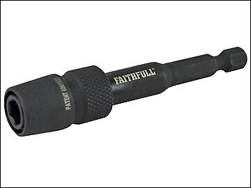 Faithfull Universal Bit Holder Impact Rated 75mm FAISBMBH75U