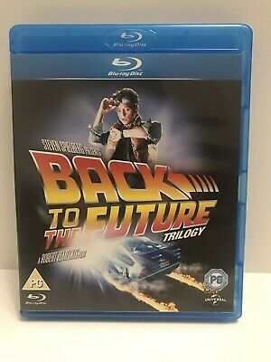 Back To The Future Trilogy Blu Ray 3 Disc Set