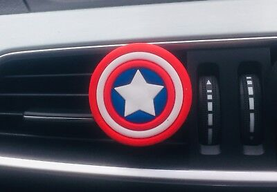 Marvel Captain American Shield Car air freshener (Buy 3 Get 1 Free)