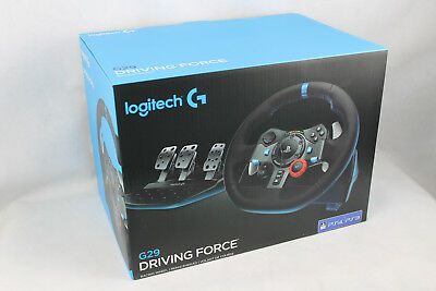 Logitech G29 Racing Lenkrad Driving Force for PS4, PS3 and PC (941-000112)