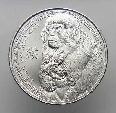 2016 Year of the Monkey 1 oz .999 Fine Silver Round By Provident Metals